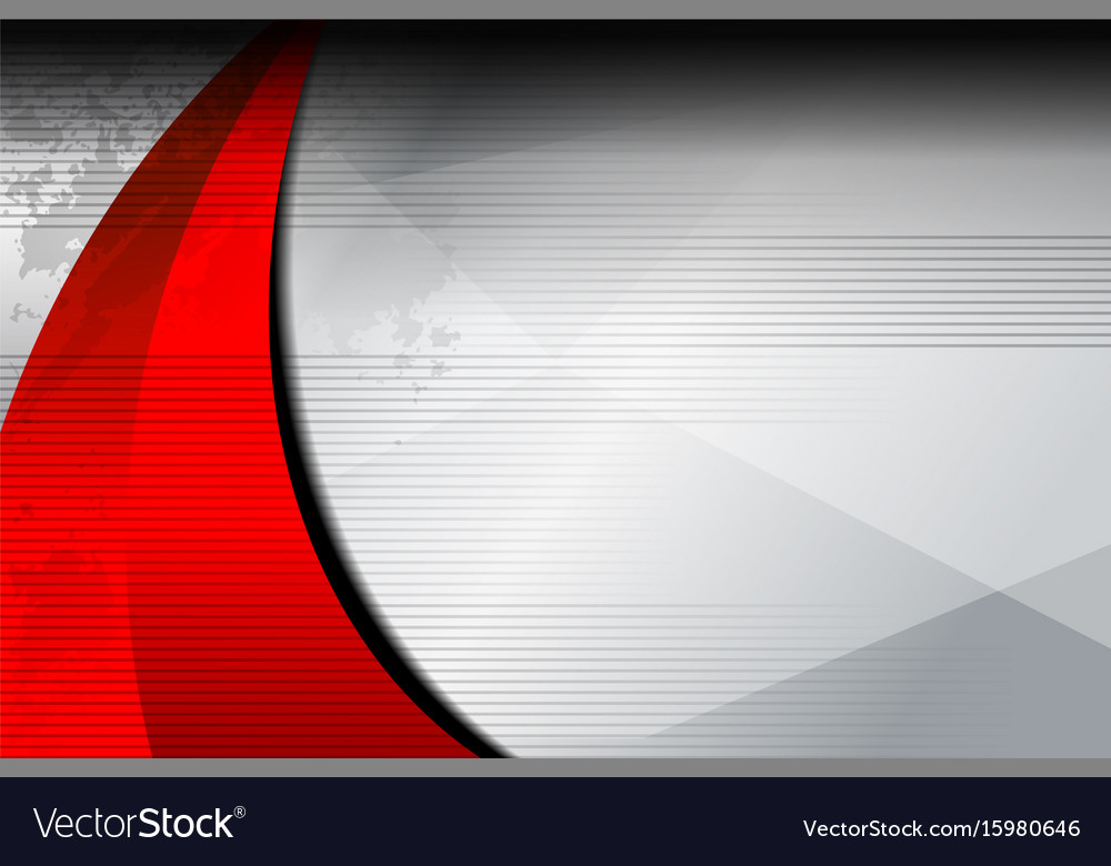 Background red curve texture vector image