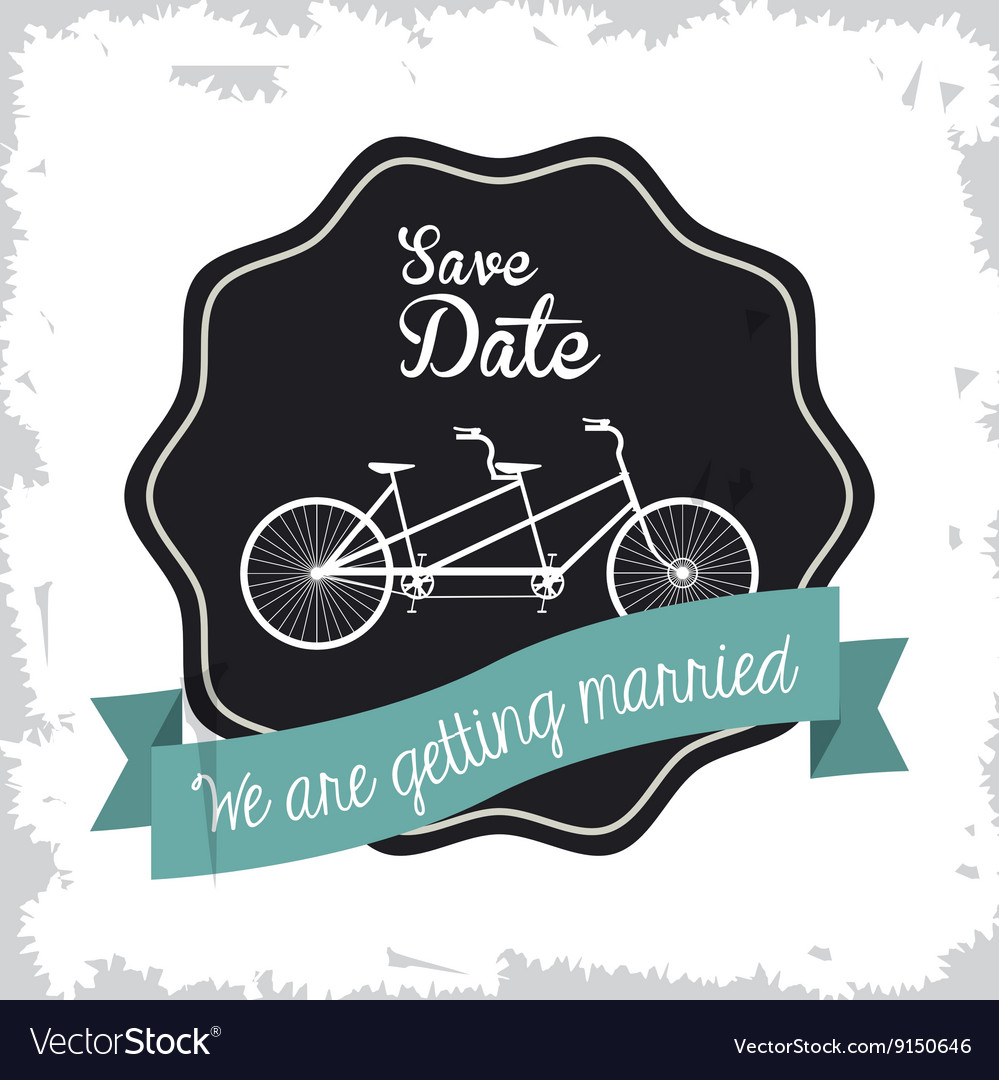 Married design Wedding icon Flat