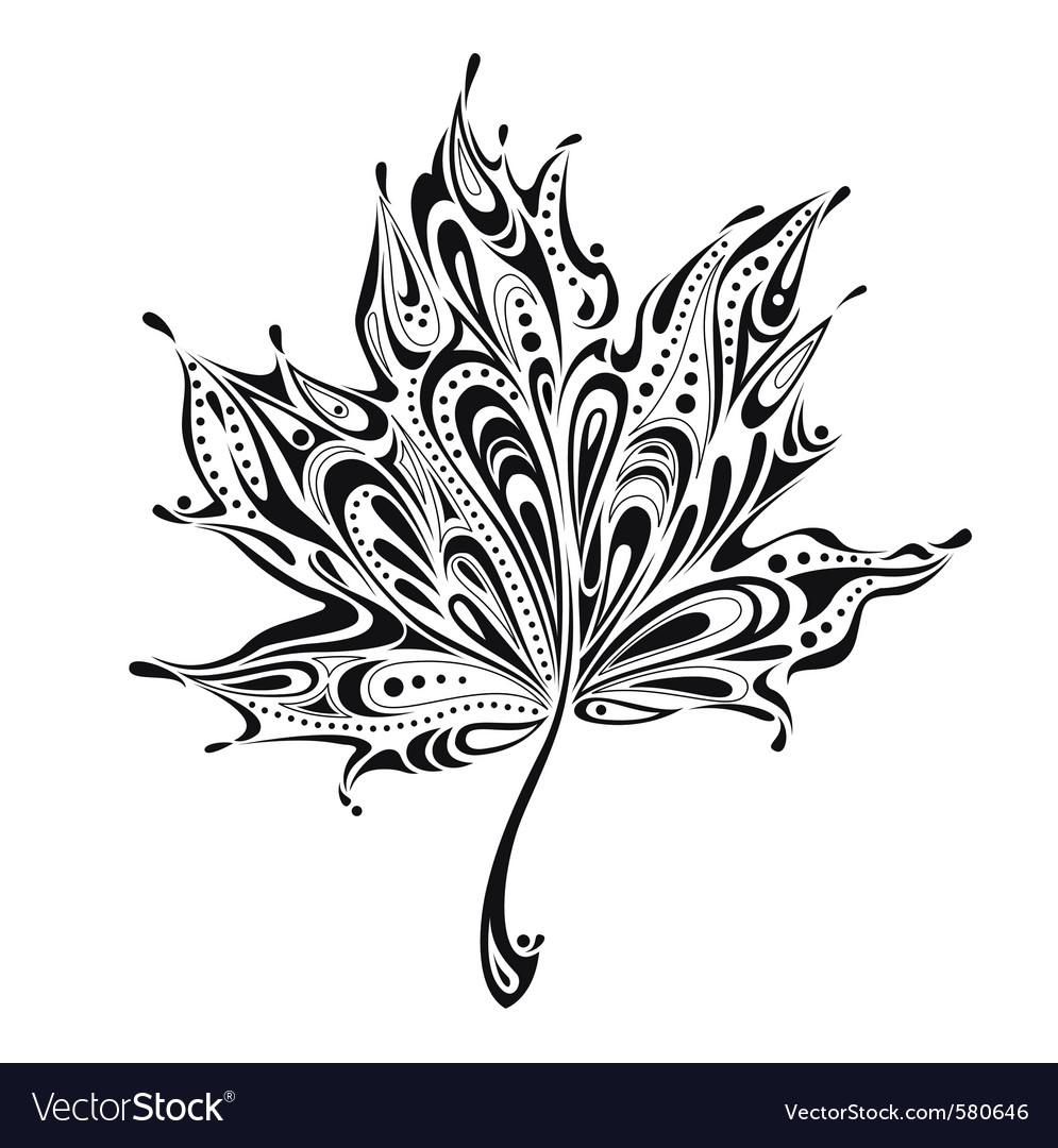 Nature sketch vector image