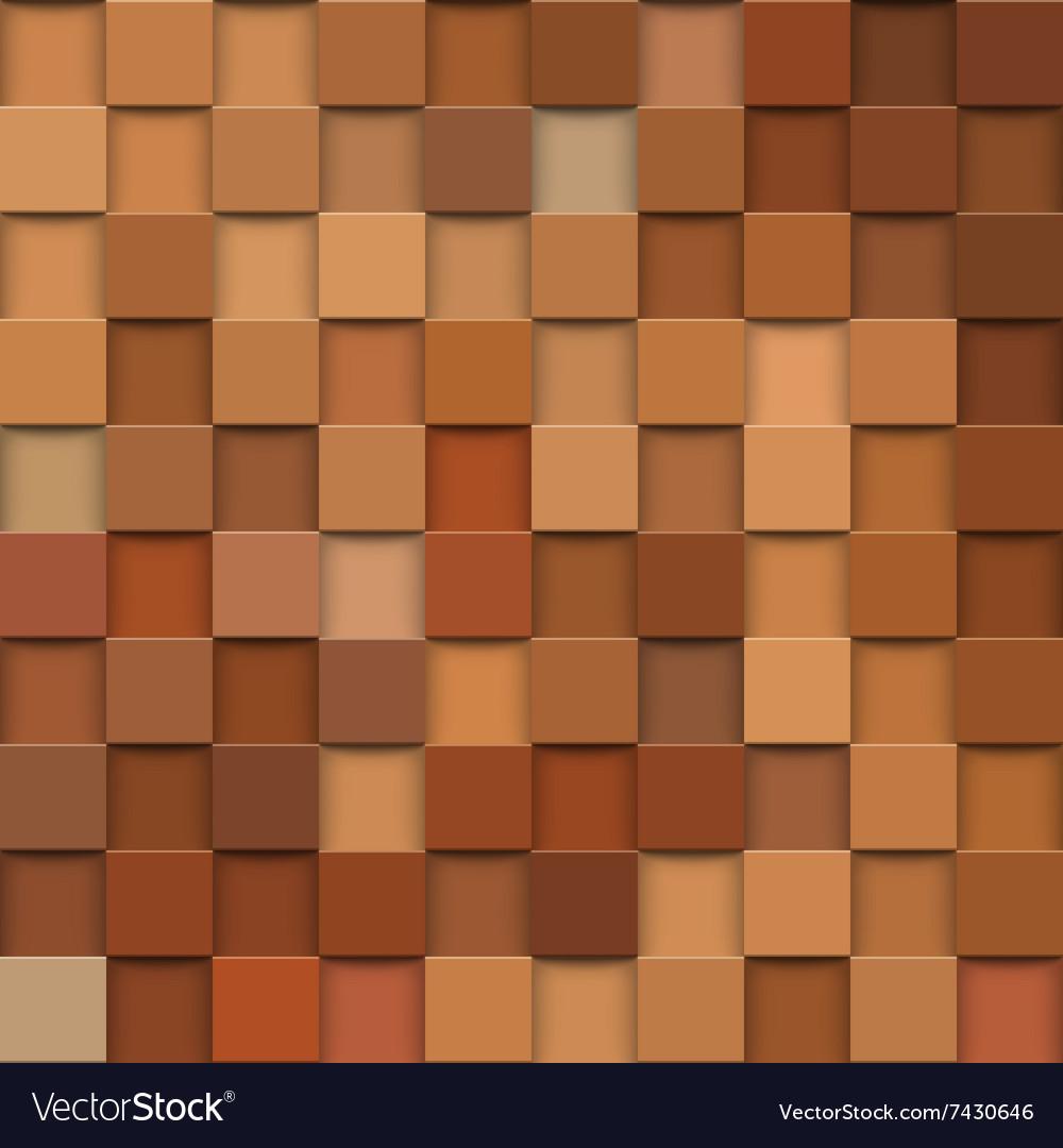 Square mosaic 3d Vintage colorful texture