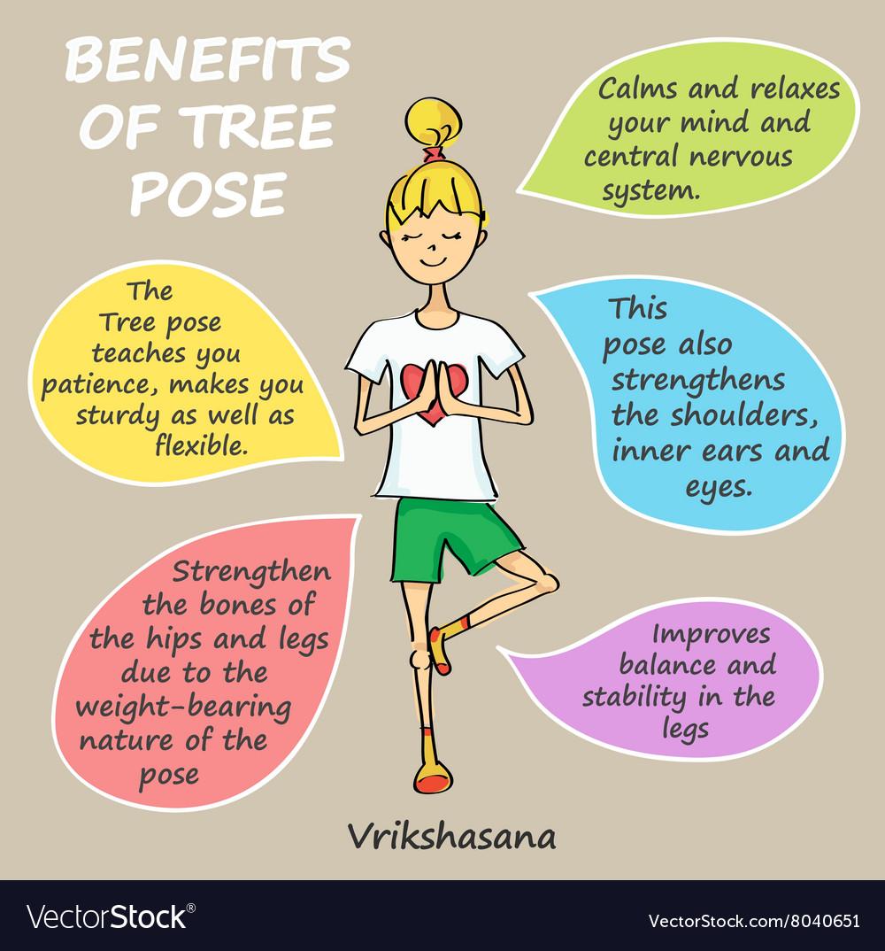 Benefits of tree pose