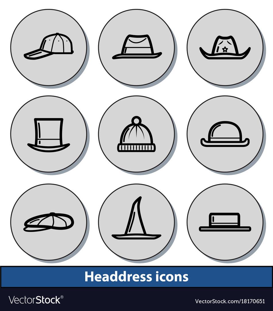 Light headdress icons