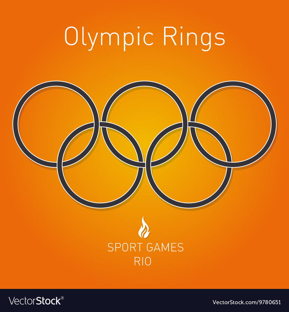 Olympic rings Sport games Rio