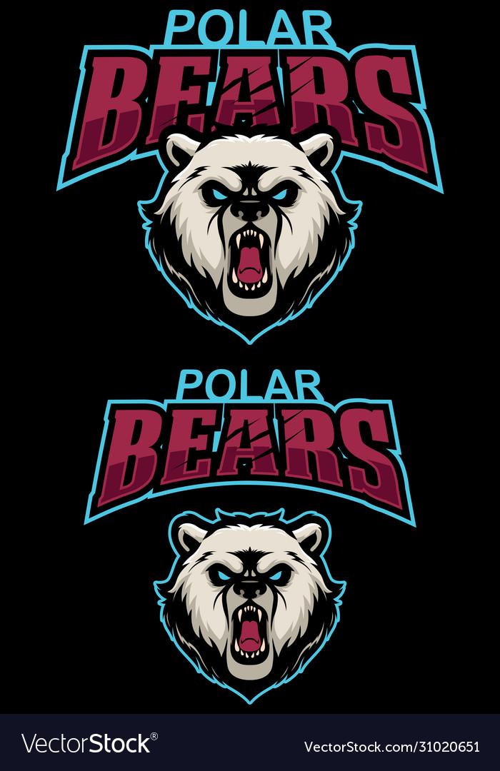 Polar bears mascot