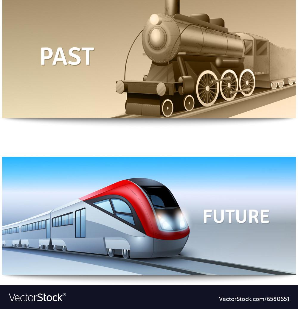 Train Banner Set