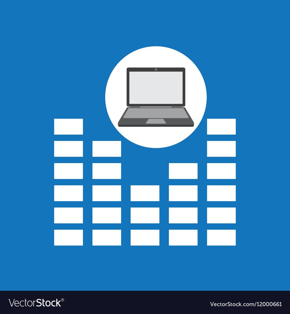 Laptop music technology equalizer