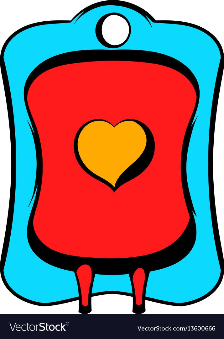 Donate blood icon icon cartoon vector image