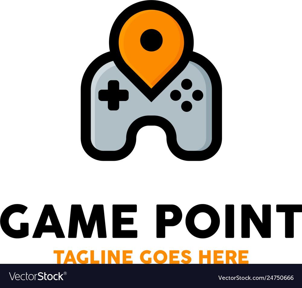 Game point logo design inspiration