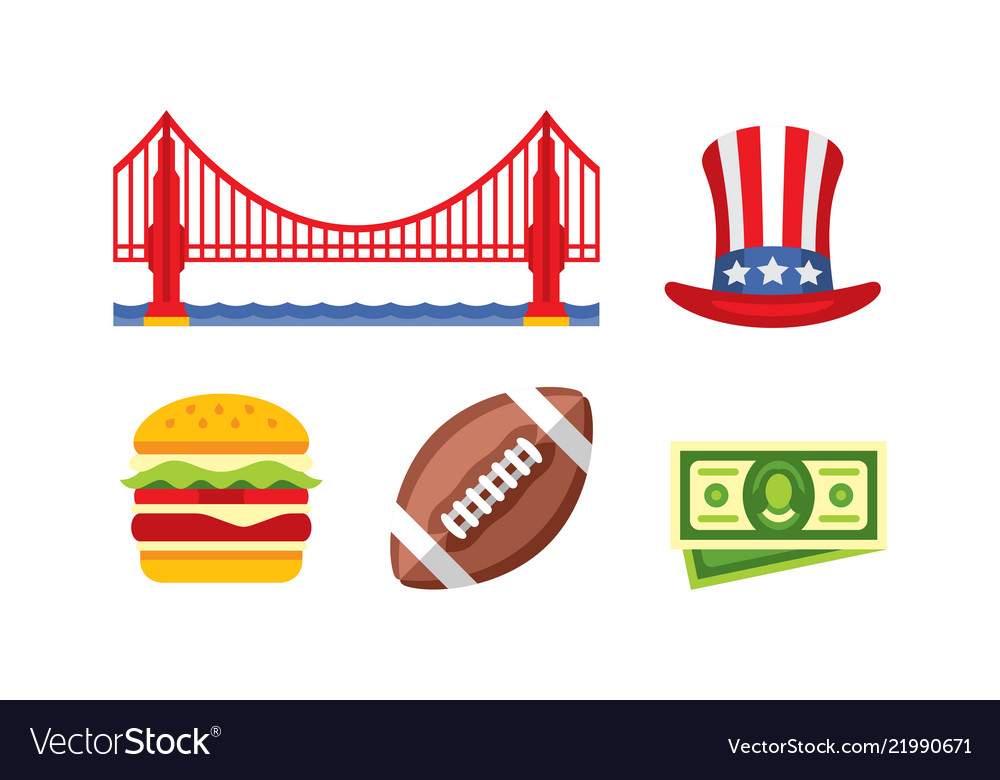 American national symbols golden gate bridge