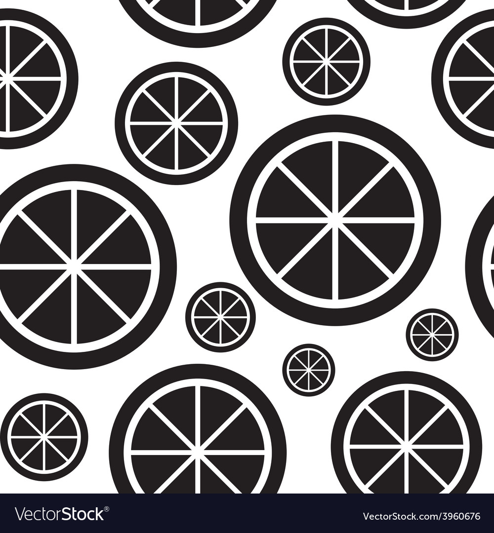 Lemon Fruit Abstract Seamless Pattern Background