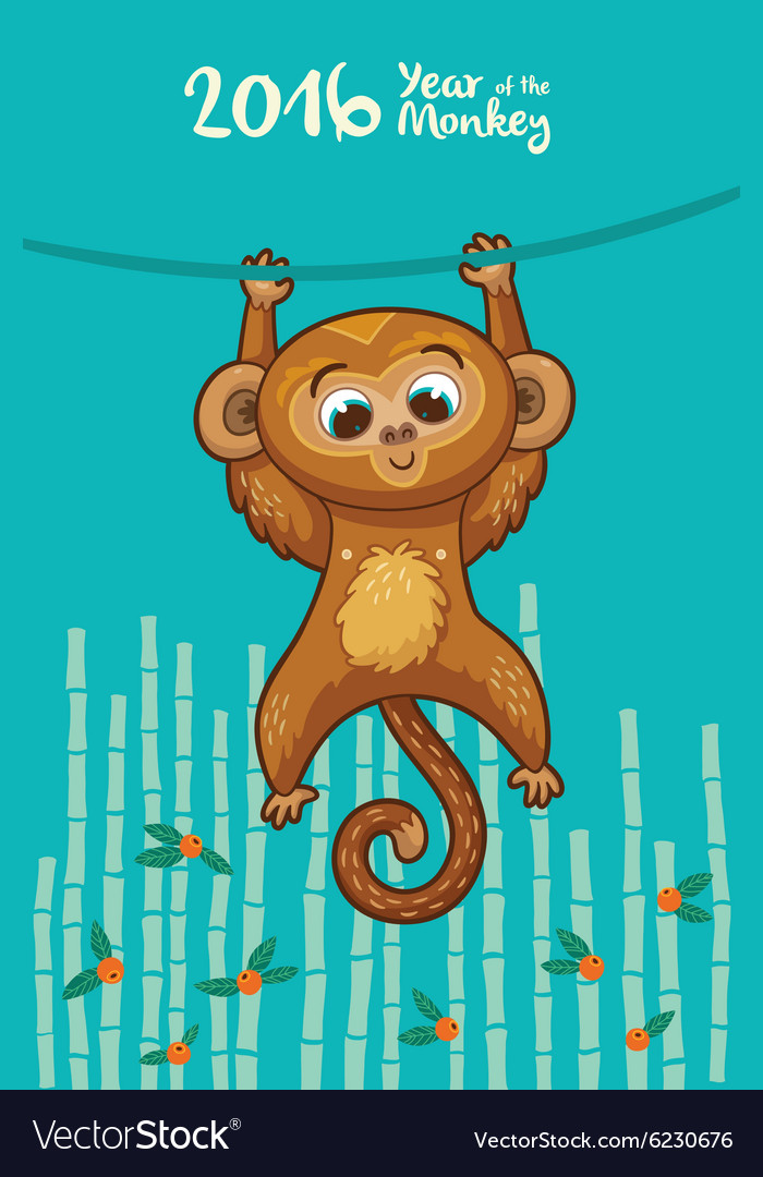 Открытки с обезьянами и весами, коллаж