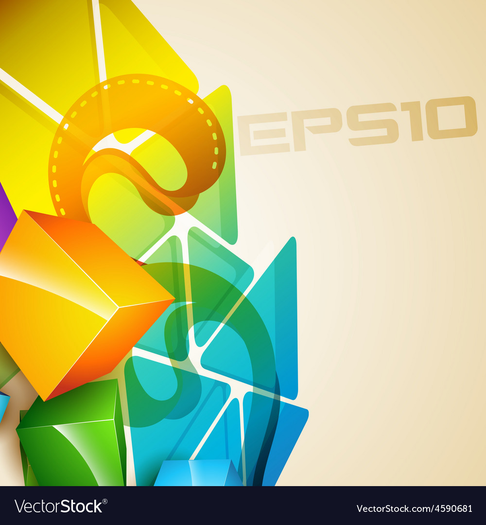 3d style background