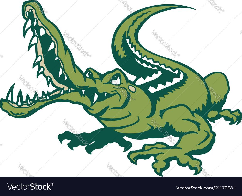 Crocodile cartoon animal cartoon character