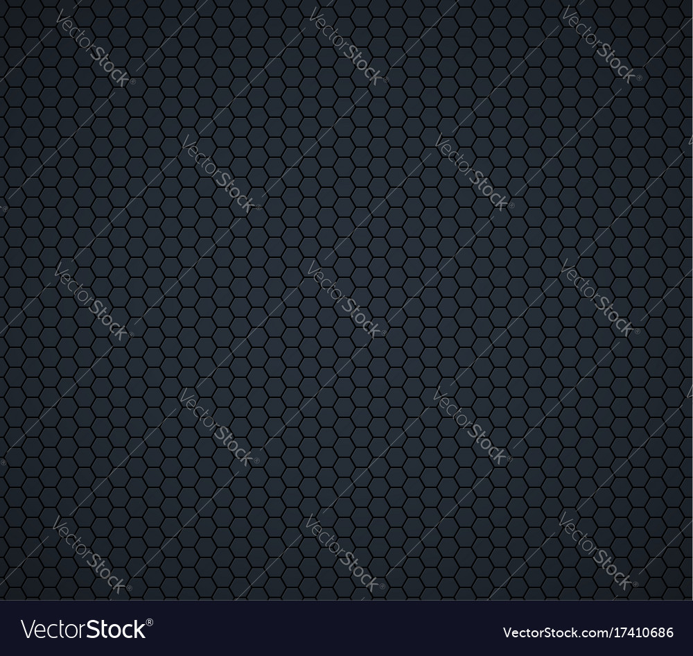 Dark gray technology hexagon honeycomb background