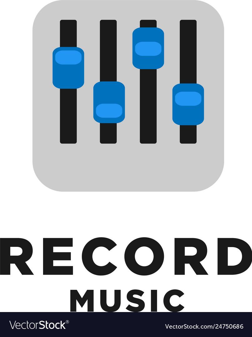Record music logo design inspiration