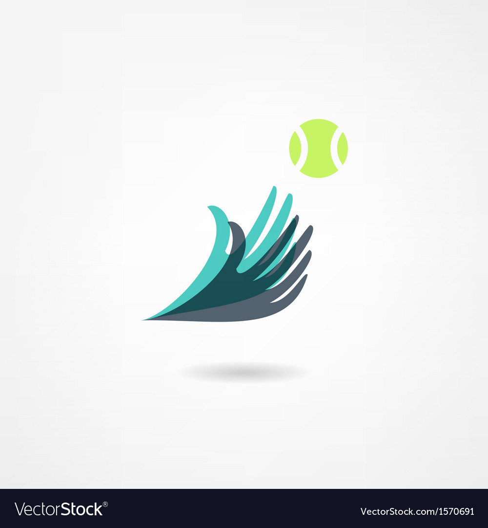 Ball game icon vector image