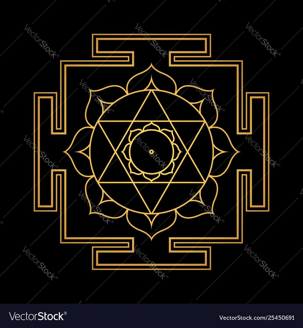 Hinduism yantra sacred geometry mandala
