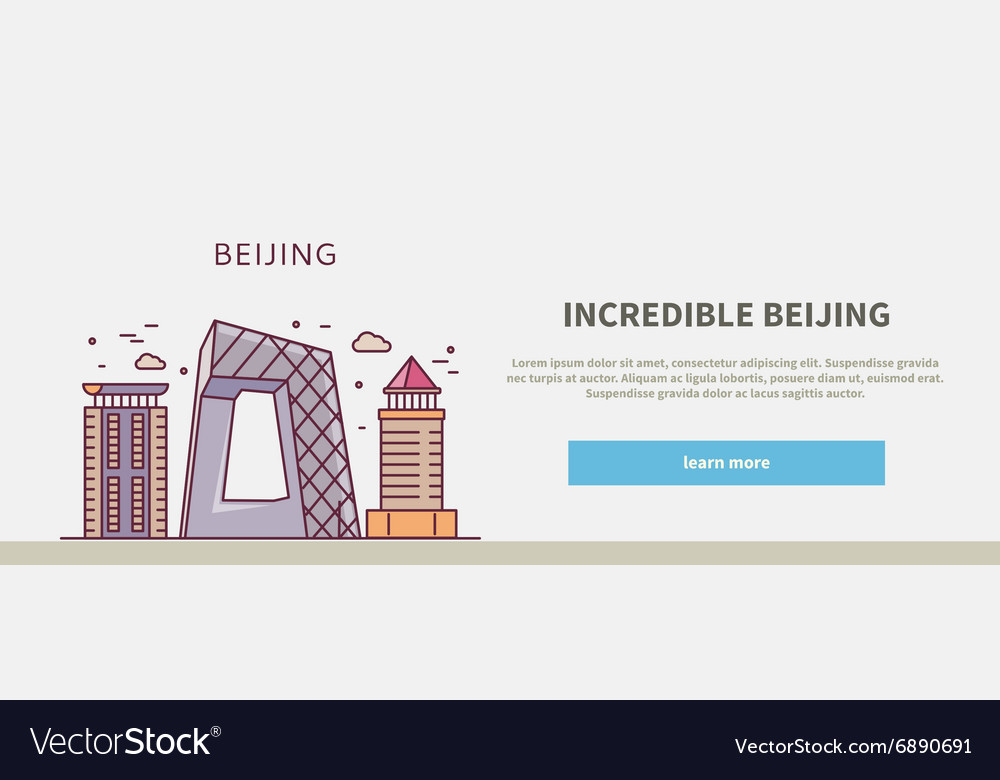 Web Page Chinese City of Incredible Beijing