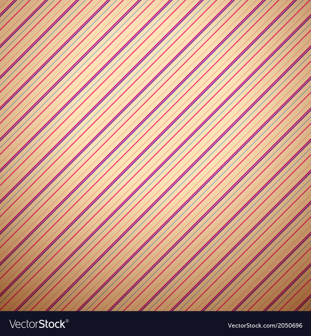 Abstract diagonal line pattern wallpaper vector image