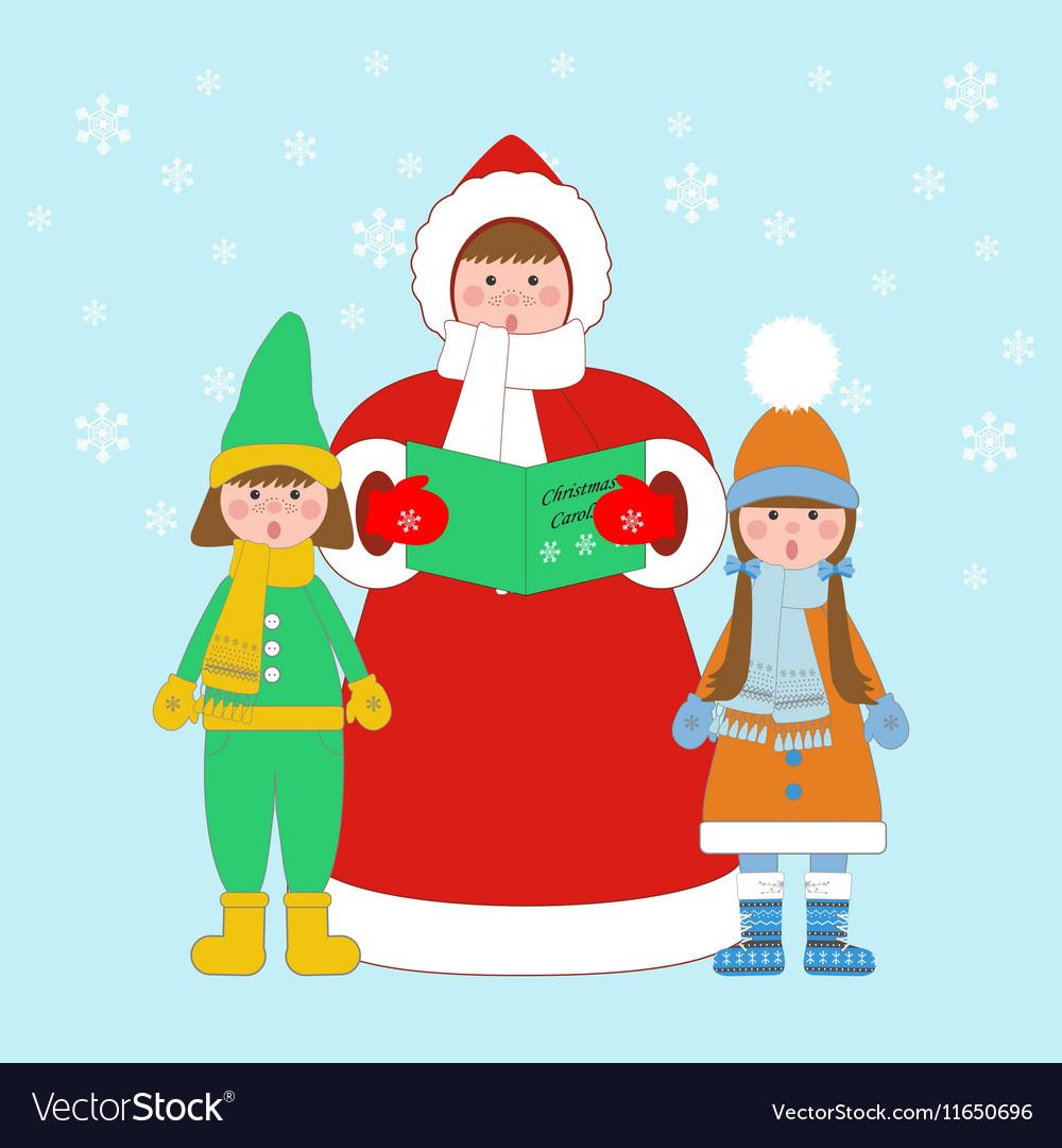 Christmas carols singers