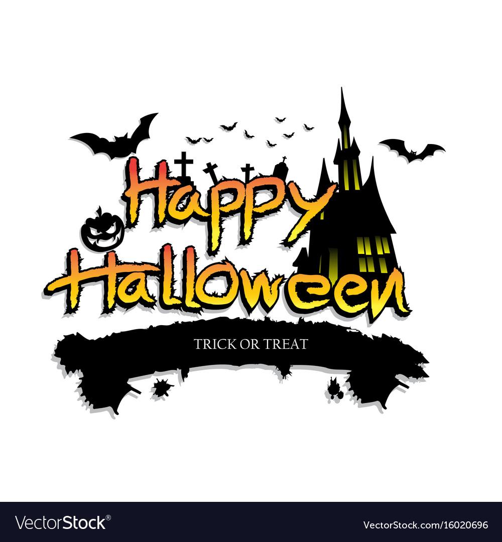 Halloween design background