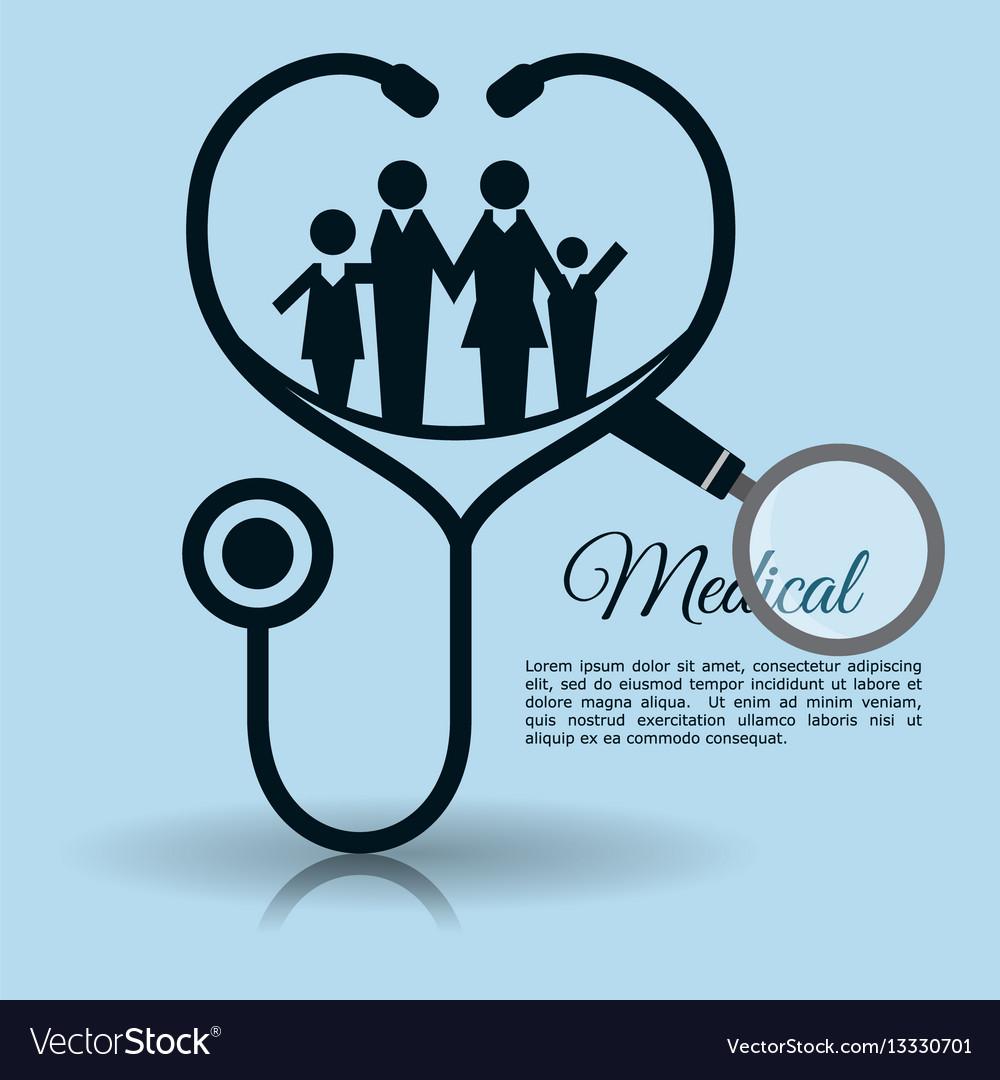 Family stethoscope medical equipment
