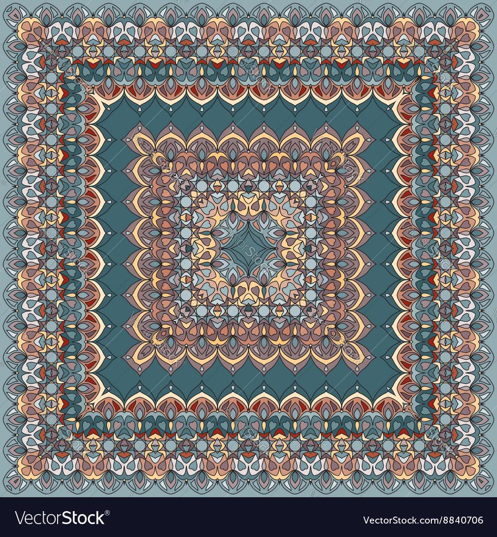 Bright colored bandana vector image