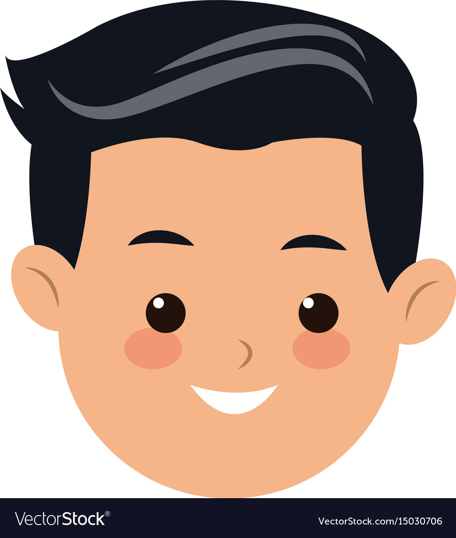 Head face man father people image Royalty Free Vector Image