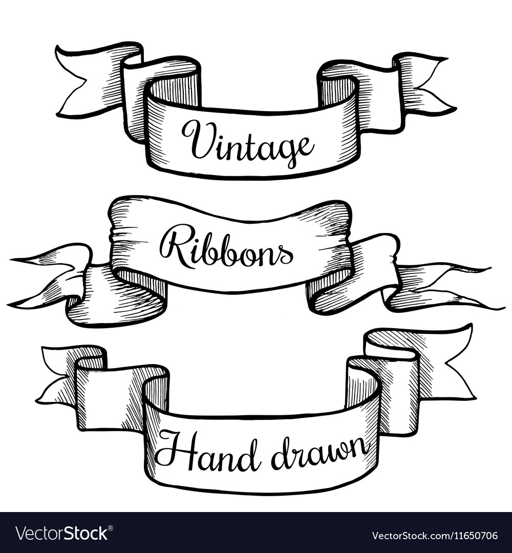 Ribbons with text 05