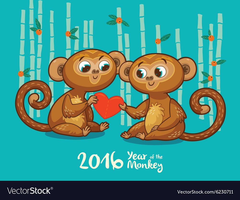 Картинки, открытки про обезьянок
