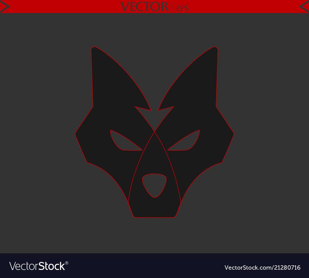 Arrow wolf logo