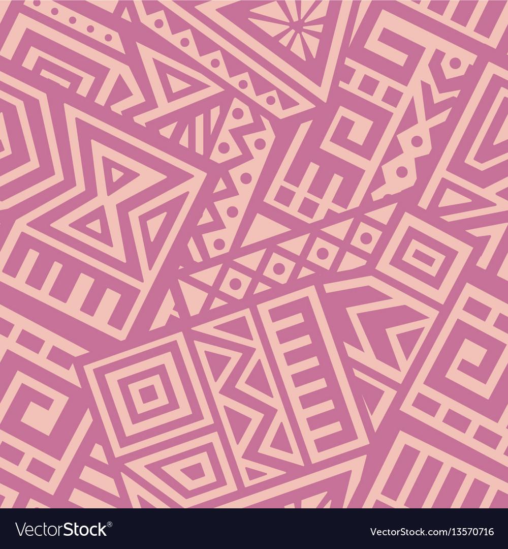 Aztec seamless pattern