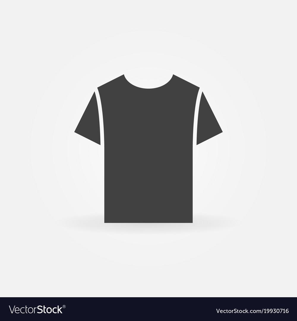 tshirt icon t shirt symbol royalty free vector image vectorstock