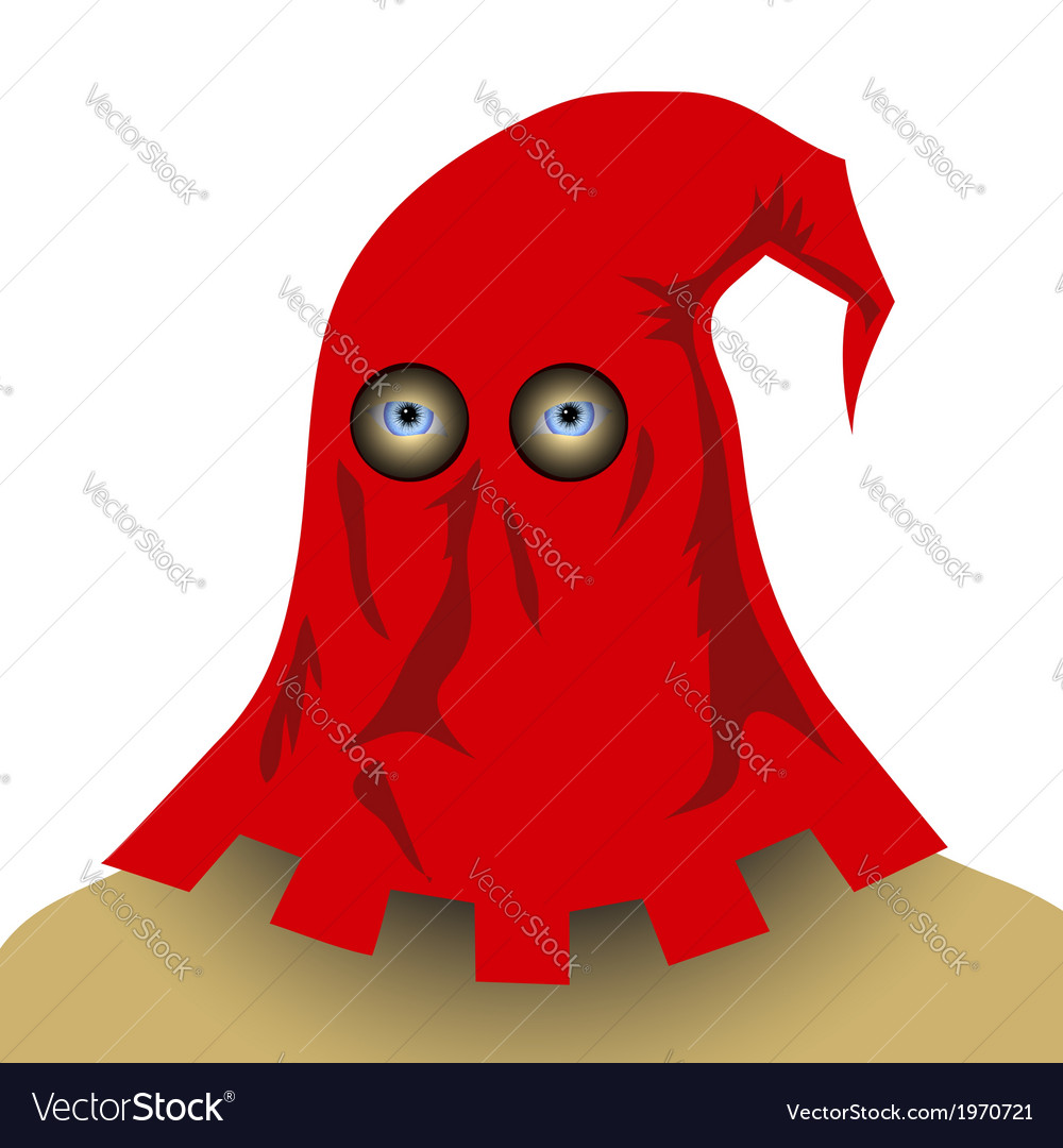 Executioner mask vector image