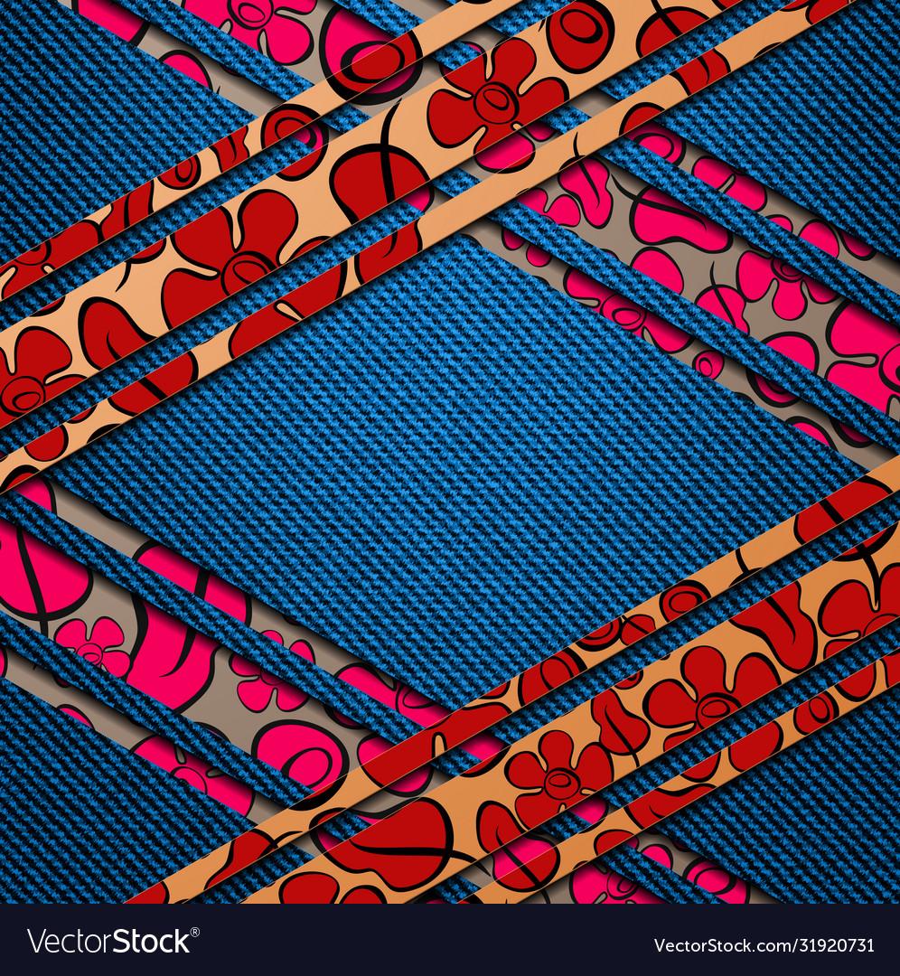 Geometric badges set trendy minimal design eps10