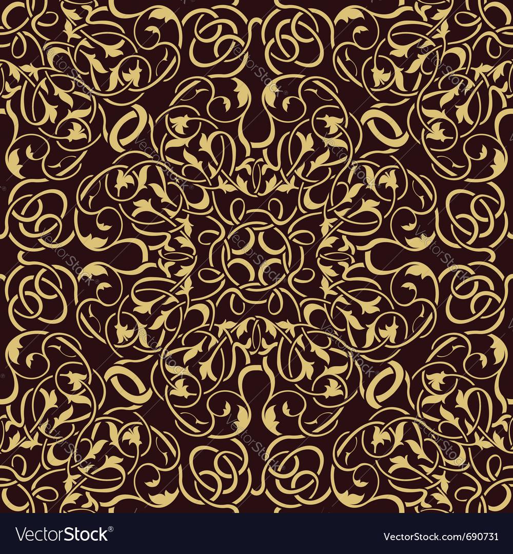 Gold seamless wallpaper