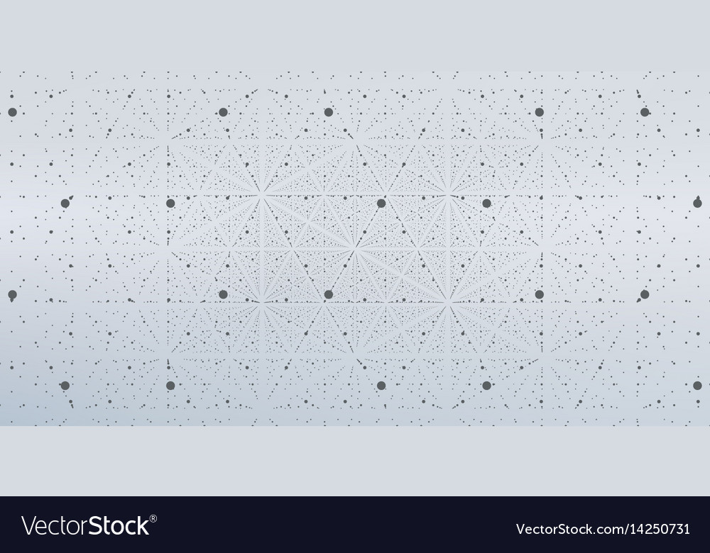 Infinite space background matrix of