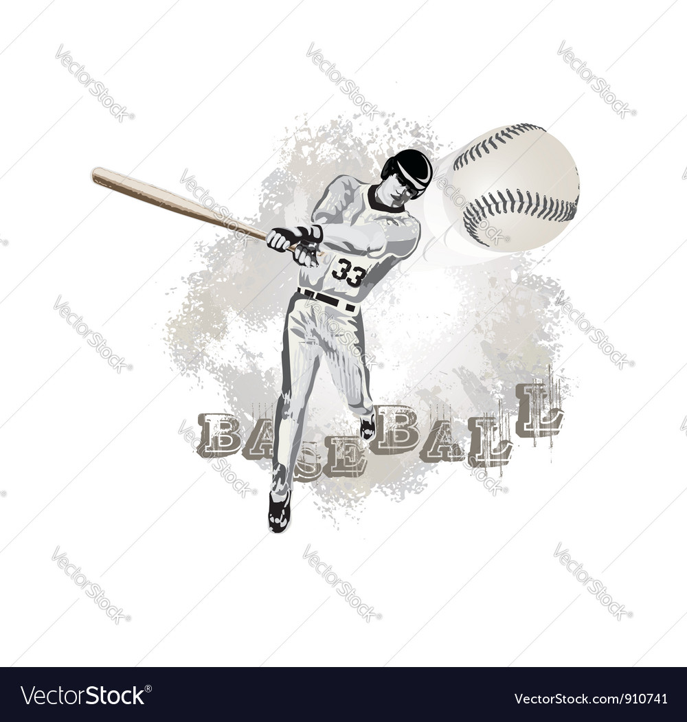 Base ball player