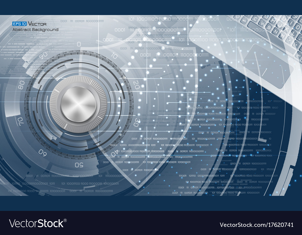 Data protection abstract background