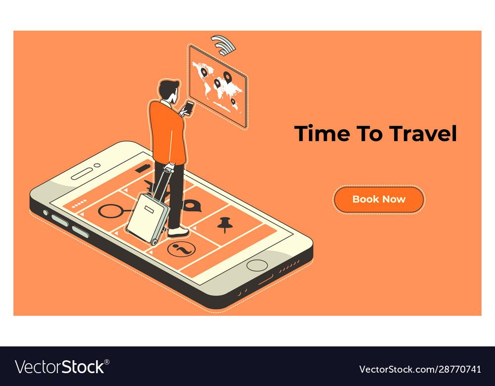 Location destination journey map route travel