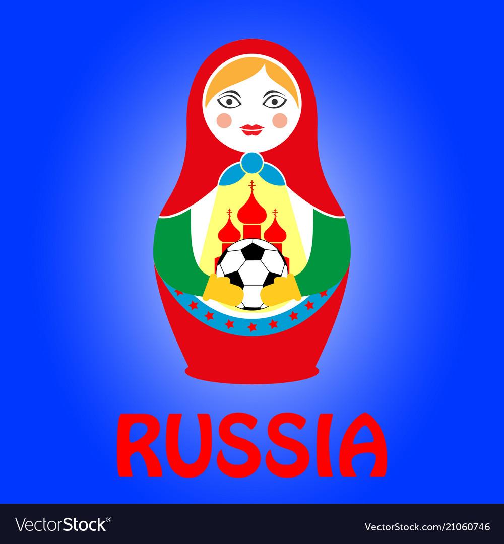 Russian nesting doll matryoshka