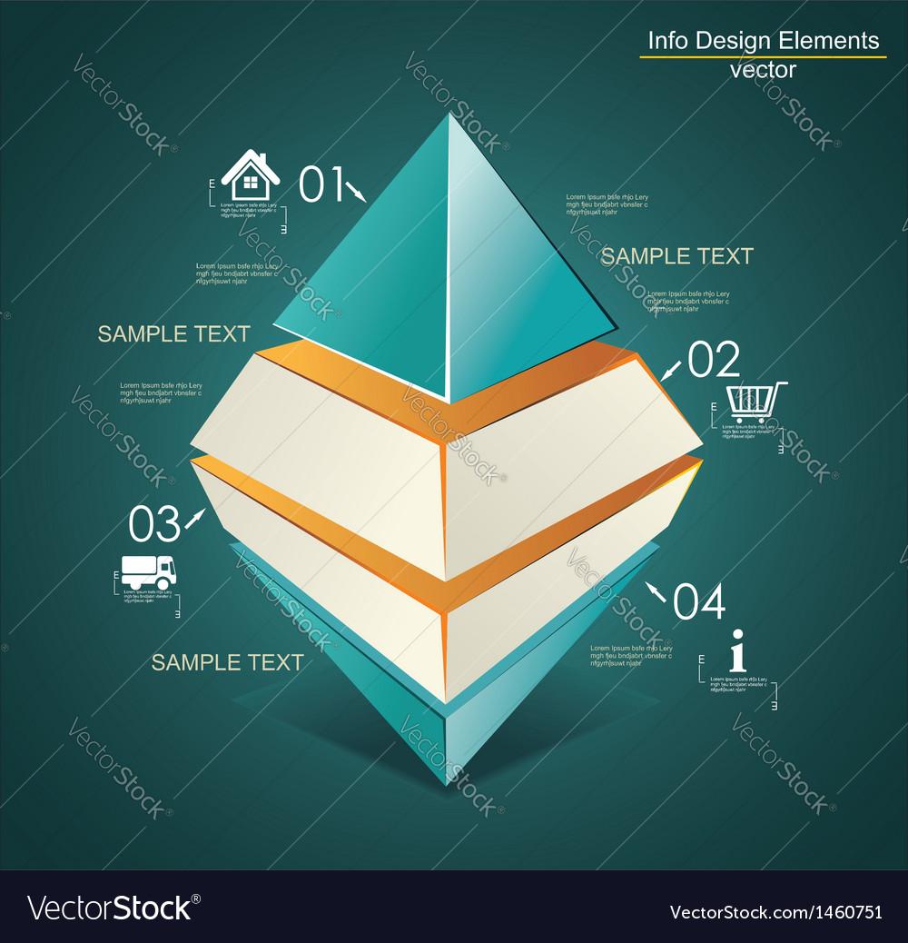 Abstract Infinite Rhombus logo template Corporate