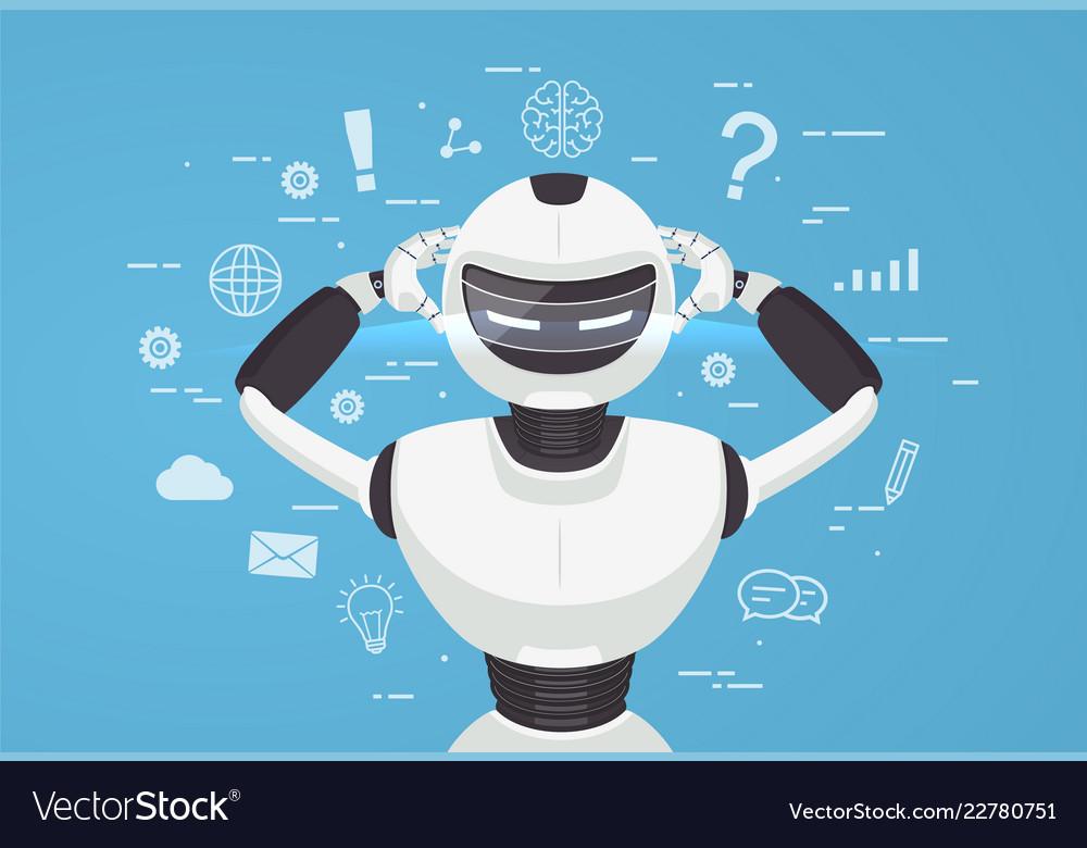 Chat bot robot virtual assistance