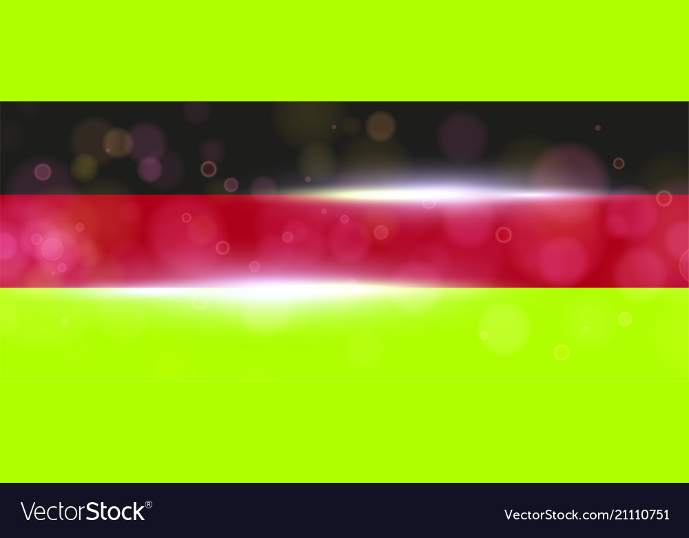 The national flag of germany modern vector image
