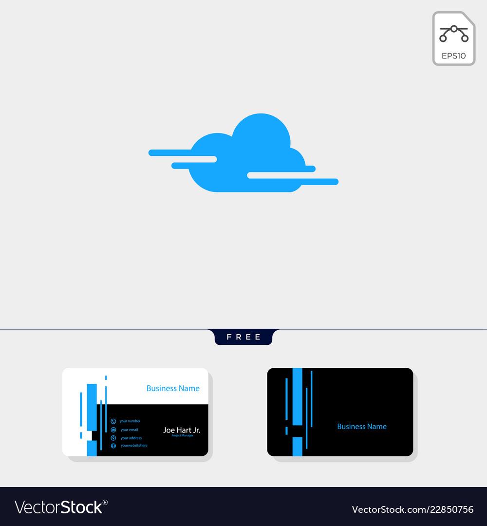 Cloud creative logo template get free business