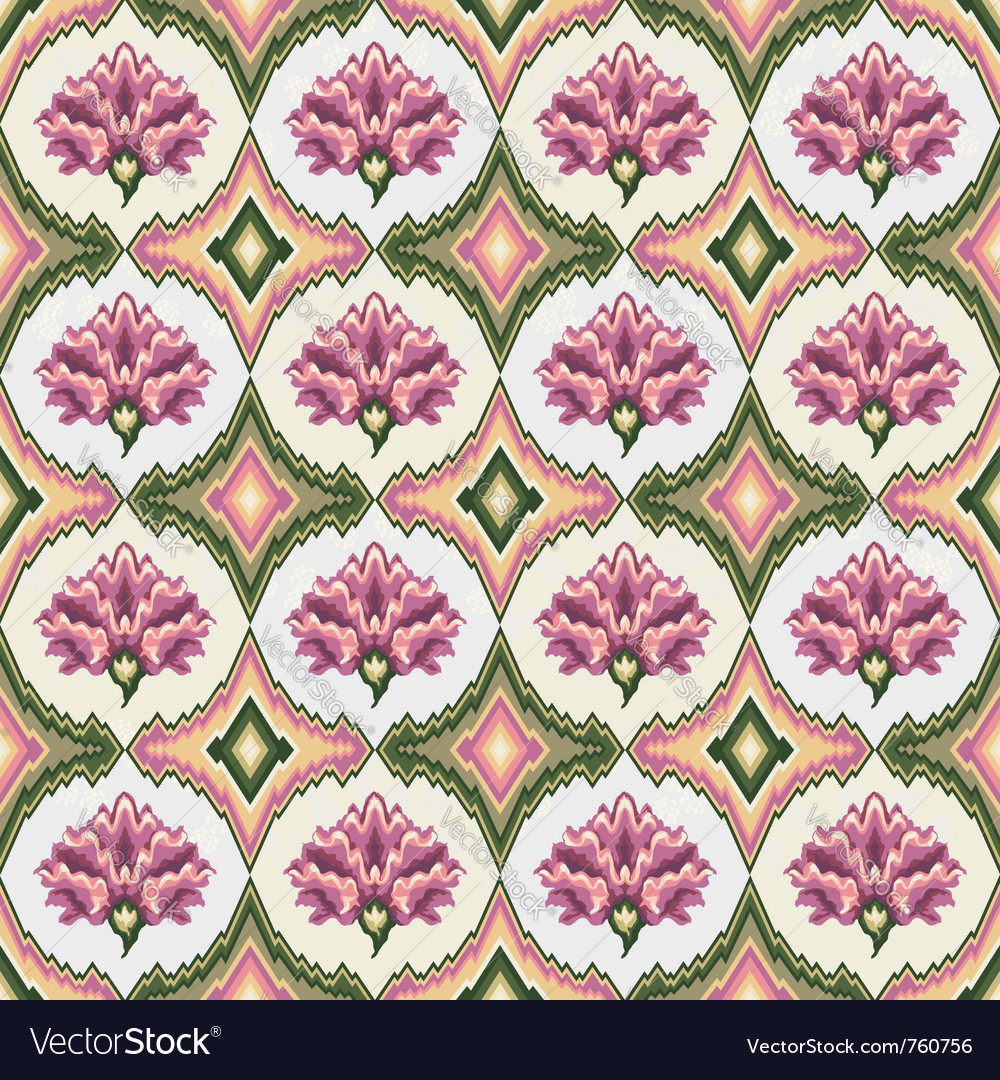 Pastel Floral Patterns Royalty Free Vector Image