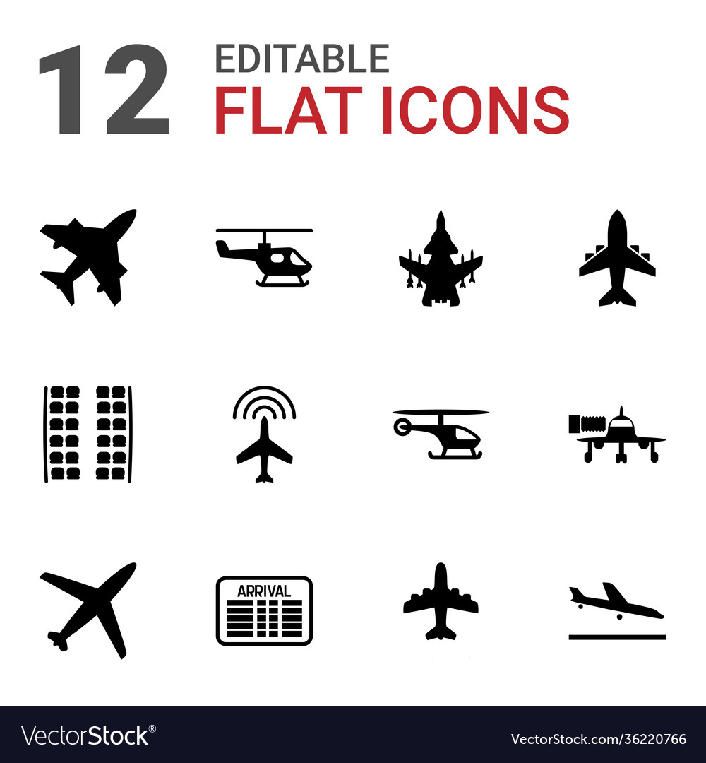 Airline icons