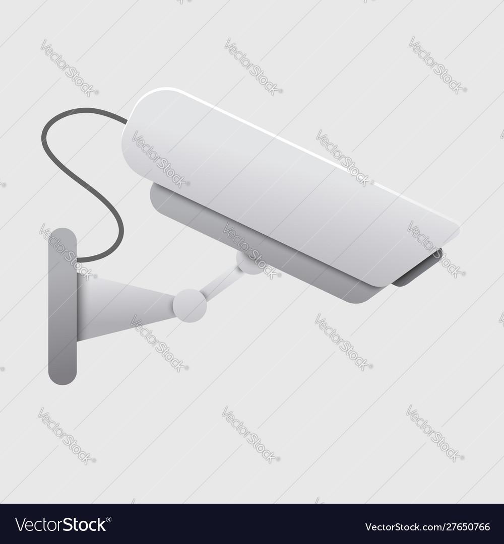 Realistic security camera concept