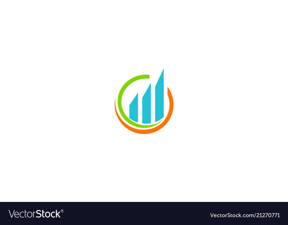 Business finance profit logo