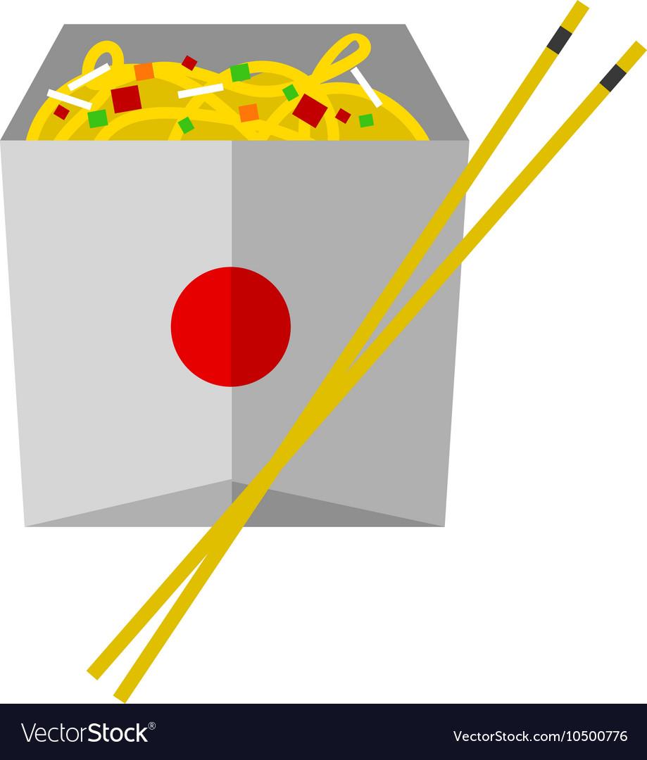 Fast food noodles box